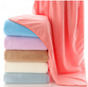 China Supply Super Water Absorbent Coral Fleece Bath Towel