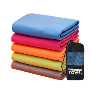 Stripes and Solid Color Sand Free Polar Fleece Beach Towel Pool Towel Fast Dry Microfiber Stocks OEM ODM